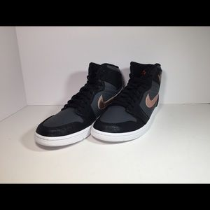 Nike Air Jordan 1 Retro High Shoes-Bronze
